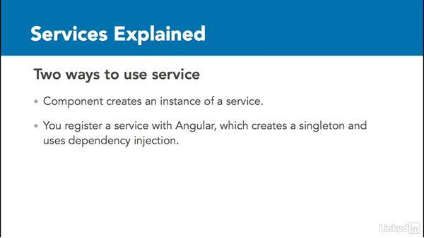 Services explained: Angular2 for .NET Developers
