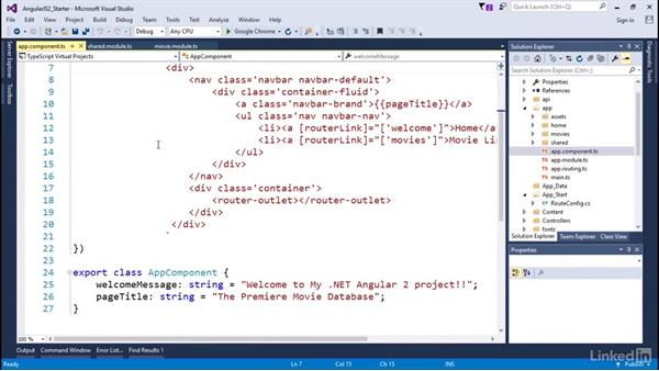 Configuring routes, part 2: Angular2 for .NET Developers