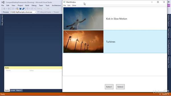 Why choose WPF over other Microsoft UI frameworks: Windows Presentation Foundation 1: Build Dramatic Desktop Applications