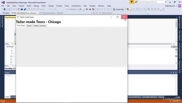Change Windows properties: Windows Presentation Foundation 1: Build Dramatic Desktop Applications