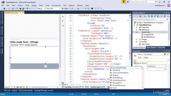 Add the Details UI: Windows Presentation Foundation 1: Build Dramatic Desktop Applications