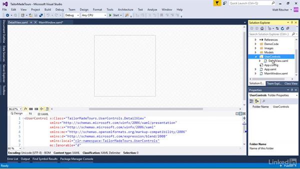 Build UI from user controls: Windows Presentation Foundation 1: Build Dramatic Desktop Applications