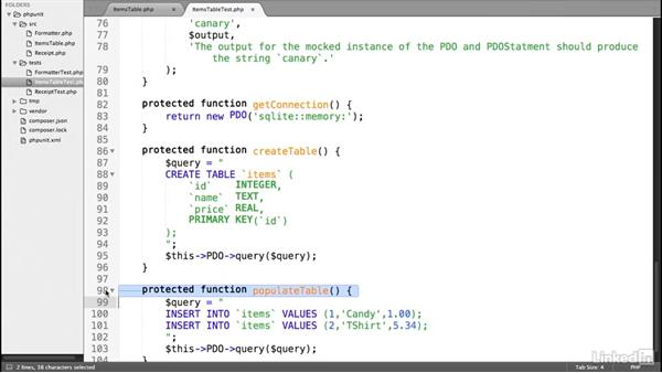 Database tests: Test-Driven Development in PHP with PHPUnit
