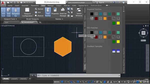 Welcome: AutoCAD: Tool Palettes