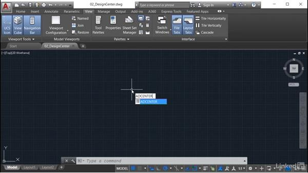 Using DesignCenter: AutoCAD: Tool Palettes