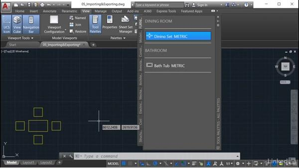 Exporting a tool palette: AutoCAD: Tool Palettes