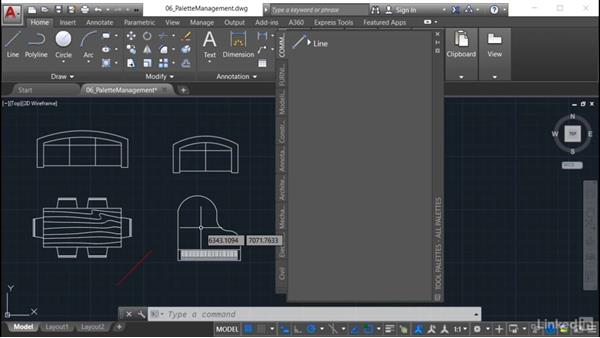 Modifying command tools: AutoCAD: Tool Palettes