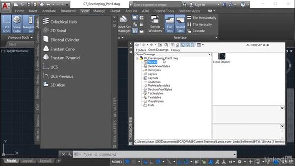 Creating a new tool palette: AutoCAD: Tool Palettes