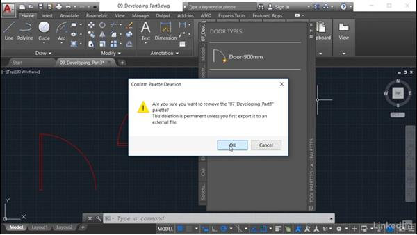 Importing the tool palette: AutoCAD: Tool Palettes
