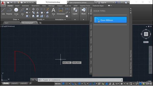 Next steps: AutoCAD: Tool Palettes