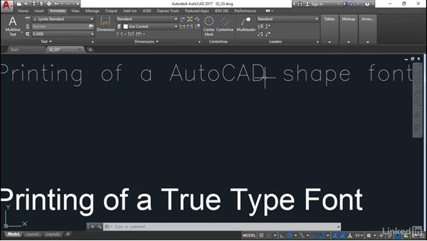 Text styles: Customization for CAD Managers