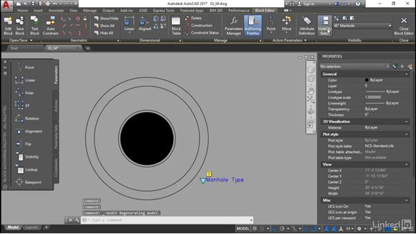 Visibility states: Customization for CAD Managers