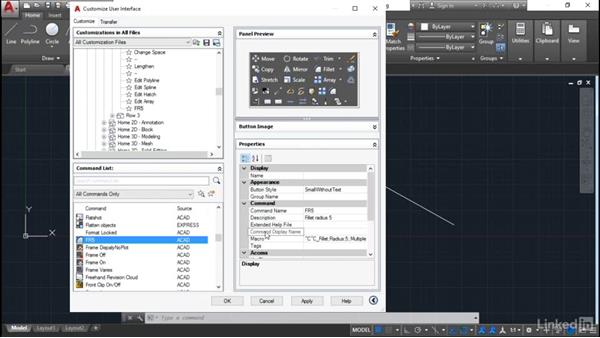 Custom Ribbon tools: Customization for CAD Managers