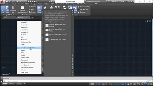 Palette tools overview: Customization for CAD Managers