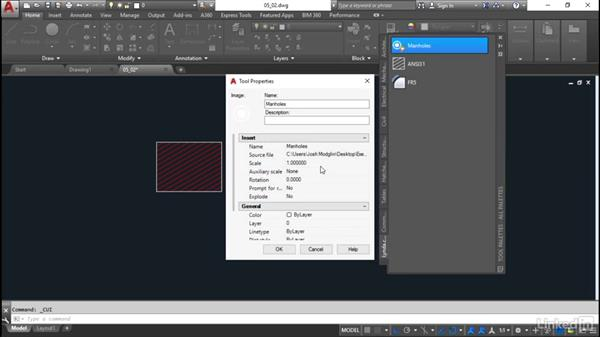 Palette tools: Customization for CAD Managers