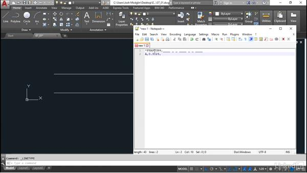 Simple linetypes: Customization for CAD Managers