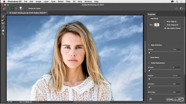 Select and mask improvements: Photoshop CC 2017 for Photographers: New Features