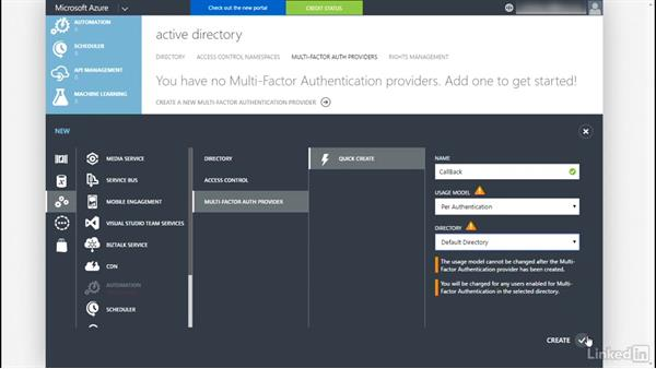 Configure multifactor authentication: Windows Server 2012 R2: Configure Identity and Access Solutions