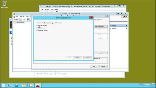Configure and manage private key archival: Windows Server 2012 R2: Configure Identity and Access Solutions
