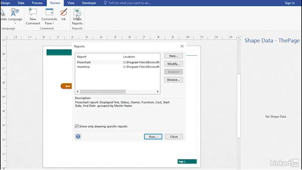 Welcome: Advanced Visio: Working with Data