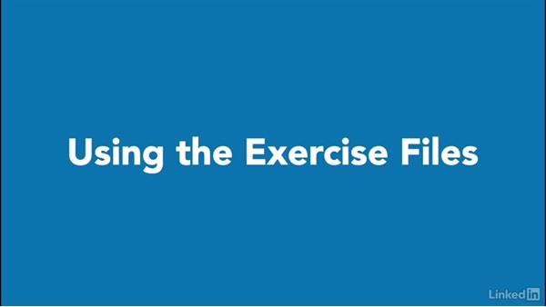 Using the exercise files: Advanced Visio: Working with Data