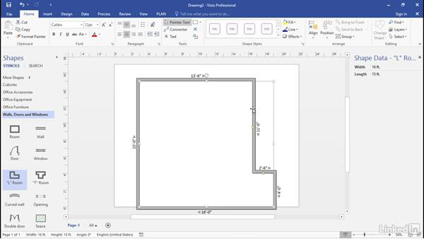 Which shapes contain data? Part 2: Advanced Visio: Working with Data