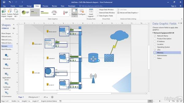 Use Visio 2016 Quick Import: Advanced Visio: Working with Data