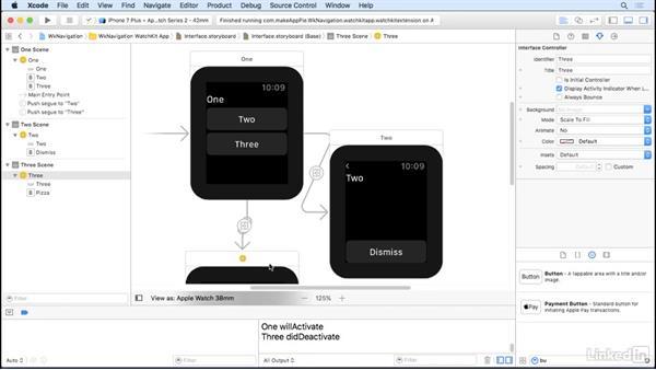 Use hierarchy: Learning Apple watchOS 3 App Development