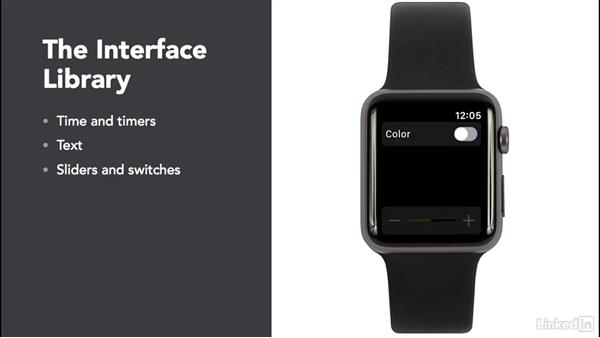Intro to interface: Learning Apple watchOS 3 App Development