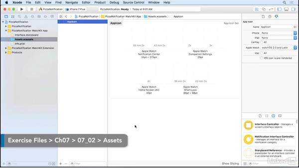 Notifications on the storyboard: Learning Apple watchOS 3 App Development
