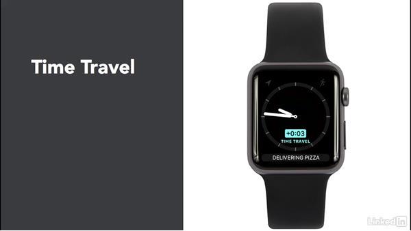 Define complications: Learning Apple watchOS 3 App Development