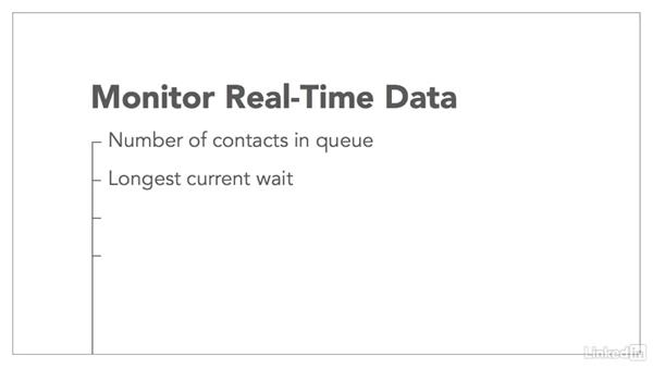 Realtime management: Managing a Customer Contact Center