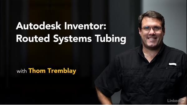 Goodbye: Autodesk Inventor Routed Systems: Tubing