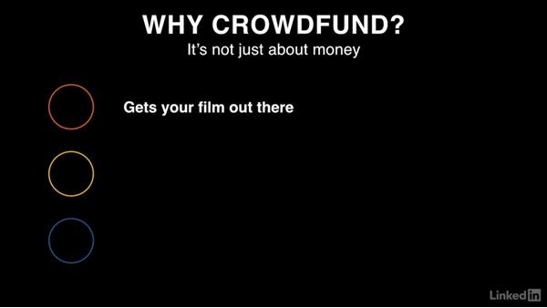 Why crowdfund?: Crowdfunding Campaigns for Independent Film