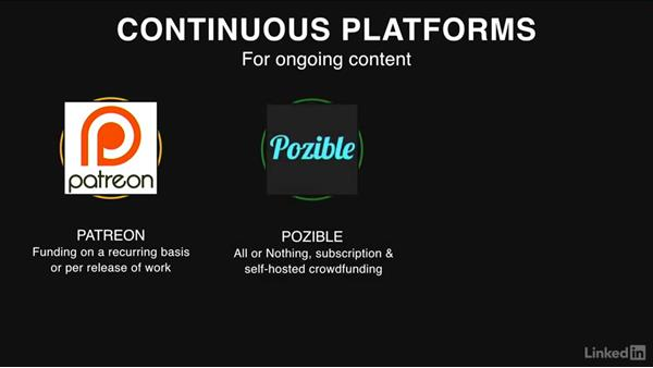 Continuous crowdfunding platforms: Crowdfunding Campaigns for Independent Film