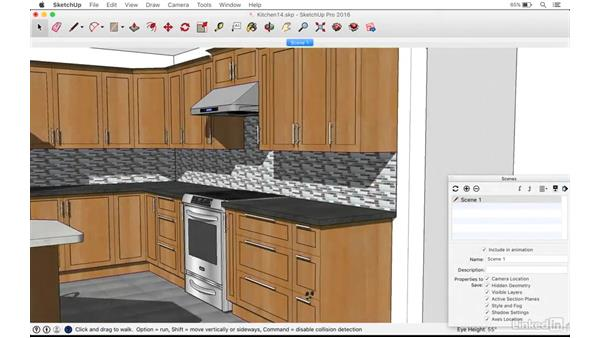 Welcome: SketchUp: Kitchen Design