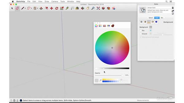 Saving a custom template: SketchUp: Kitchen Design
