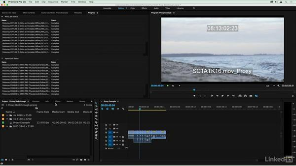 Switching from Proxy to Full Quality: Premiere Pro Guru: Online Offline Workflows
