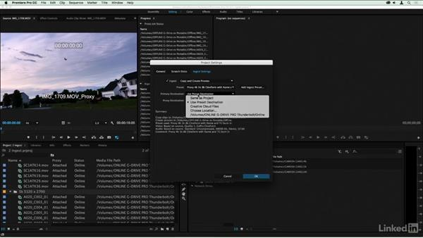 Proxy media location suggestions: Premiere Pro Guru: Online Offline Workflows