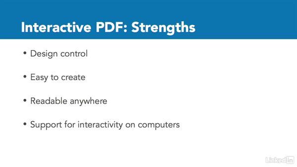 PDF publications: InDesign CC: Interactive Document Fundamentals