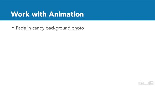 Practice: Work with animation: InDesign CC: Interactive Document Fundamentals