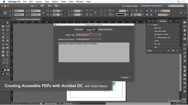 Set object export options: InDesign CC: Interactive Document Fundamentals