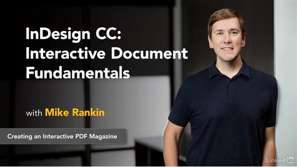 Next steps: InDesign CC: Interactive Document Fundamentals