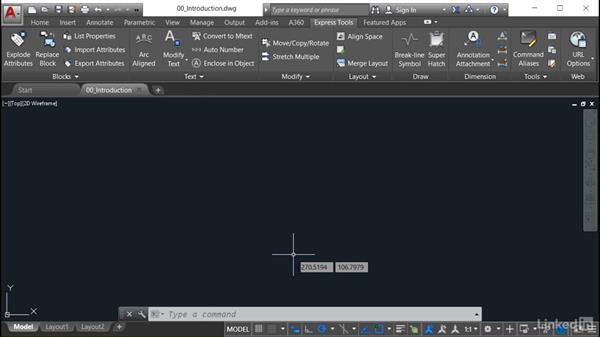 Using the exercise files: AutoCAD: Express Tools Workflow