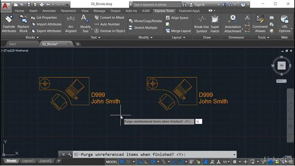 Replace Block: AutoCAD: Express Tools Workflow