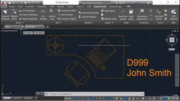 Trim to Nested Objects: AutoCAD: Express Tools Workflow