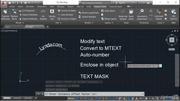 Enclose in Object: AutoCAD: Express Tools Workflow