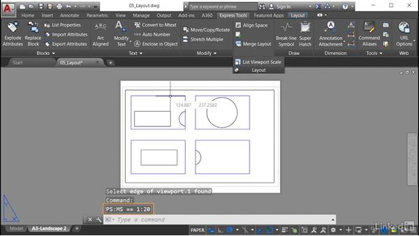 List Viewport Scale: AutoCAD: Express Tools Workflow