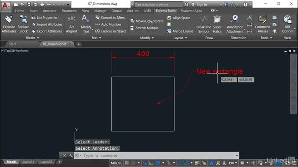 Annotation Attachment: AutoCAD: Express Tools Workflow