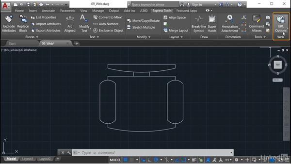 Show URLs: AutoCAD: Express Tools Workflow